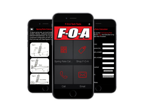 Mobile App Design & Development for F-O-A