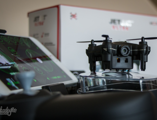 Fun Photo Shoot With A Cool Toy Drone From MOTA!