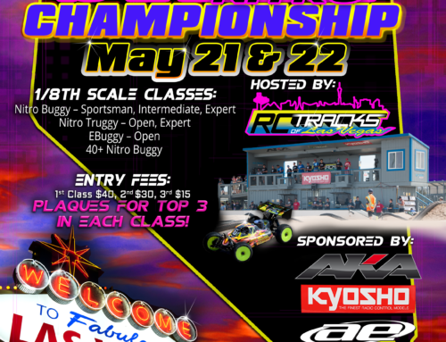 Event Flyer Design for RC Tracks of Las Vegas