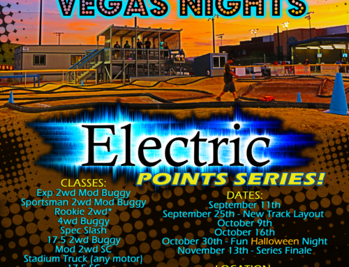 Flyer Design & Professional Photography Services – Vegas Nights Electric Points Series