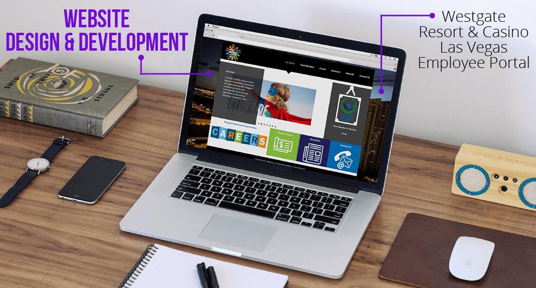 Website Design & Development for Westgate Resort & Casino